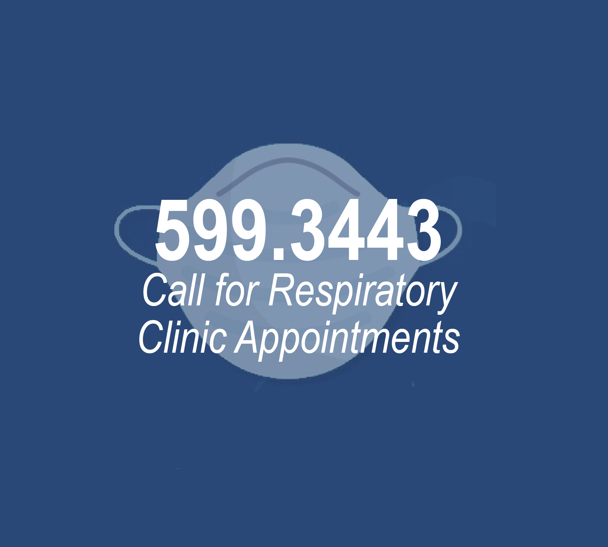 Respiratory Clinic Appointments